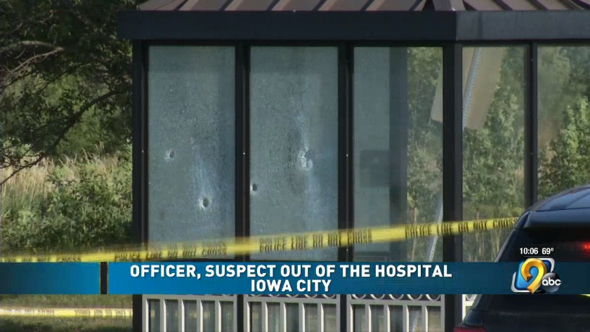 Names released of officer involved in Iowa City shooting
