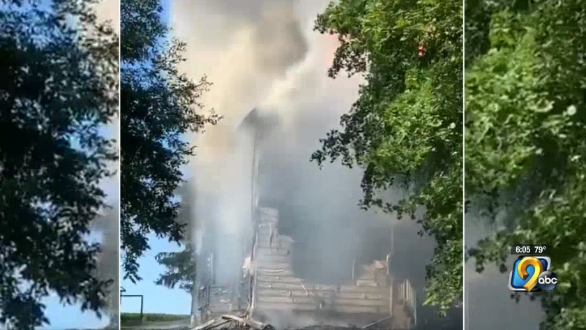 Firefighters respond to fire in Mechanicsville