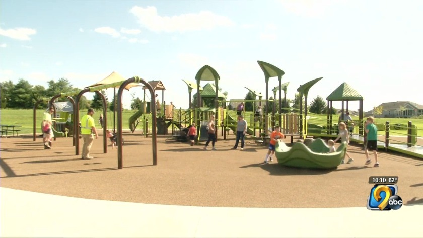 Inclusive playground opens at Marion's Lowe Park