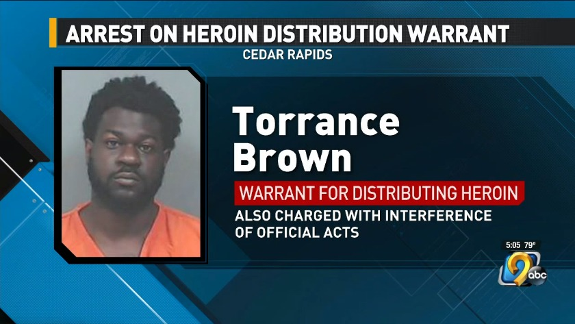 Tennessee man arrested on warrant for drug charge