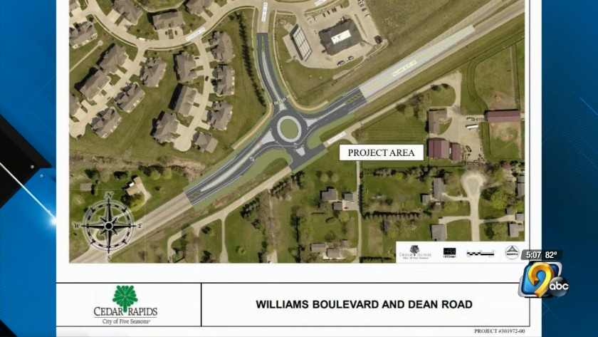 Cedar Rapids enters agreement with county on 151 roundabout
