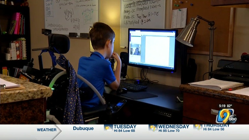 Virtual Academy presents opportunity for disabled students