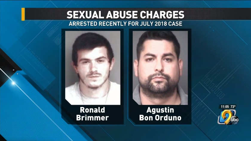 Two men arrested, charged in sexual abuse case