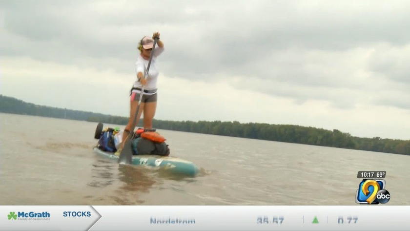 Study Raises Doubts On Mammograms Arkansasonline Com >> Woman Paddle Boarding Entire Length Of Mississippi River