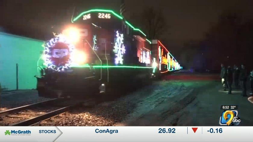 Holiday train to make eight stops in Iowa