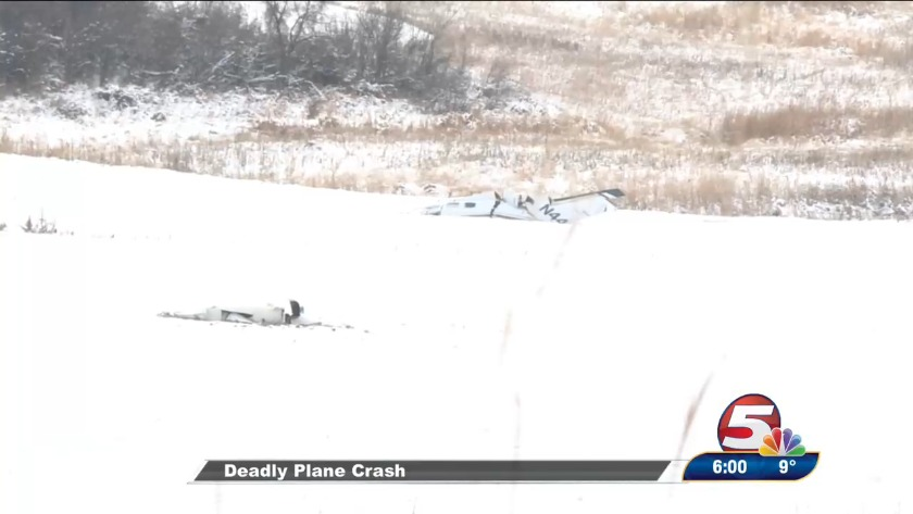 Plane crash kills 3 first responders