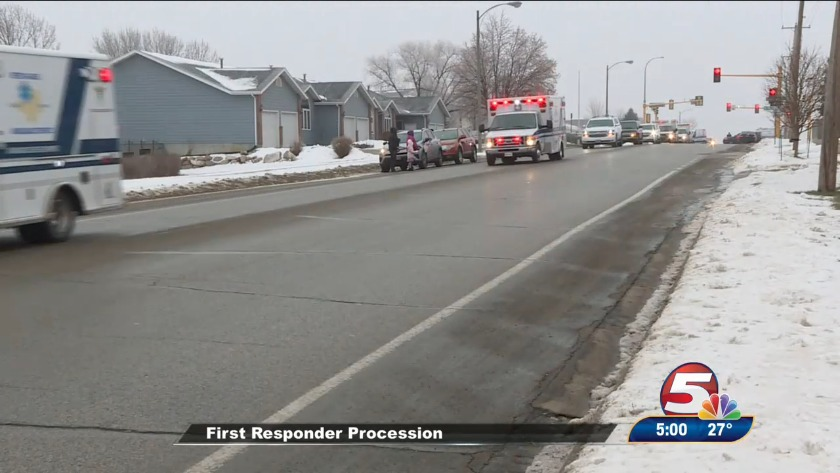Procession held for victims of deadly plane crash
