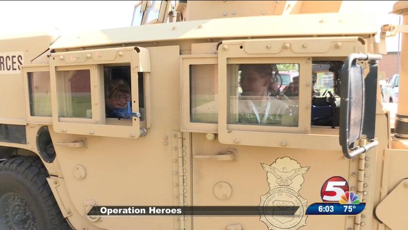 Operation Heroes at Minot Air Force Base