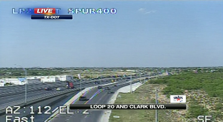 Accident reported on Loop 20 southbound lane