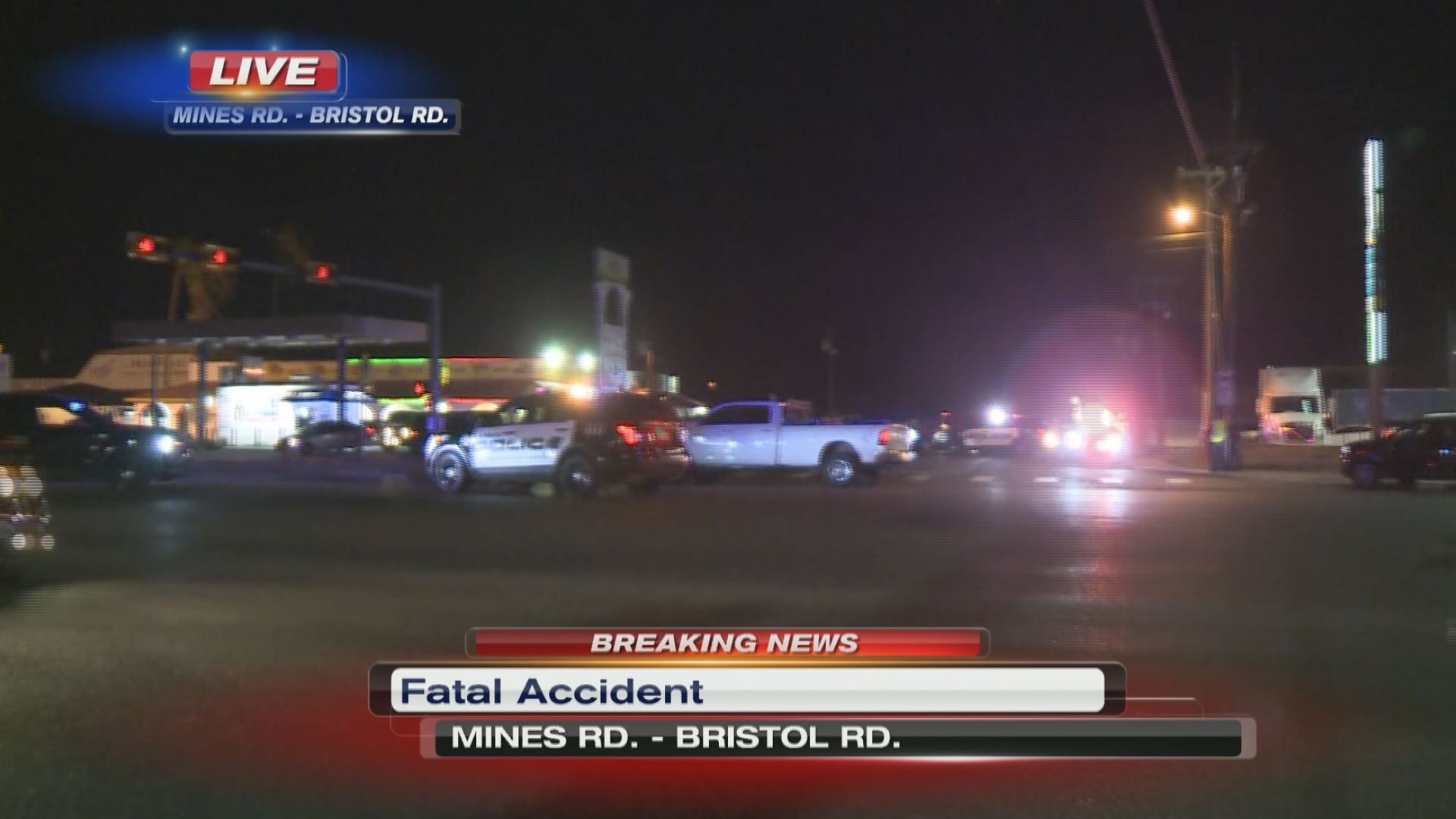 Fatal accident reported in the Mines Road area