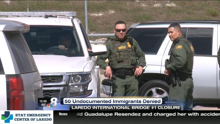 CBP closes bridge due to possible threat of migrants
