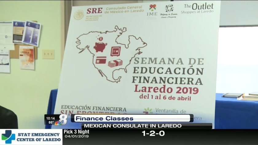 Mexican Consulate offering free financial class