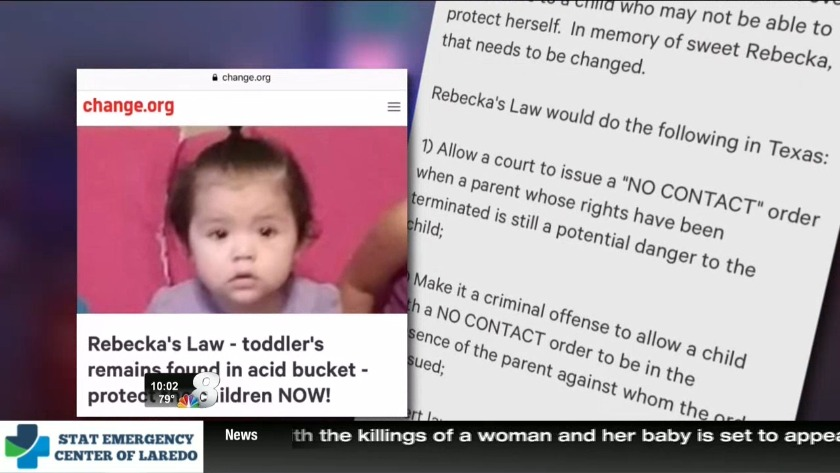 Rebecka's Law: A proposal that would enforce CPS cases