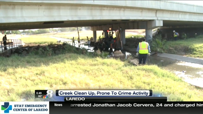 City cleans up Laredo creeks