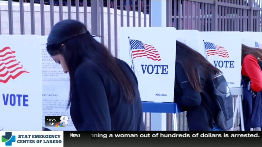 Voter registration drive getting future voters to the polls