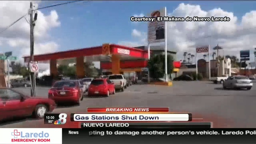 Nine gas stations abruptly close in Nuevo Laredo