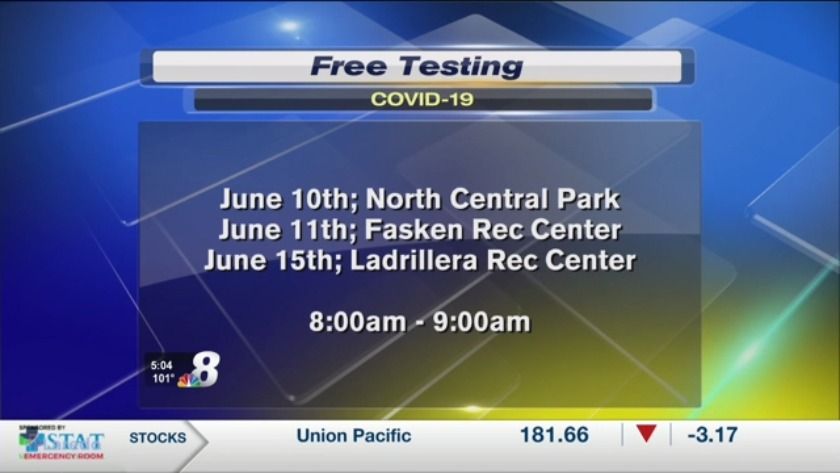 Free Covid 19 Testing Continues