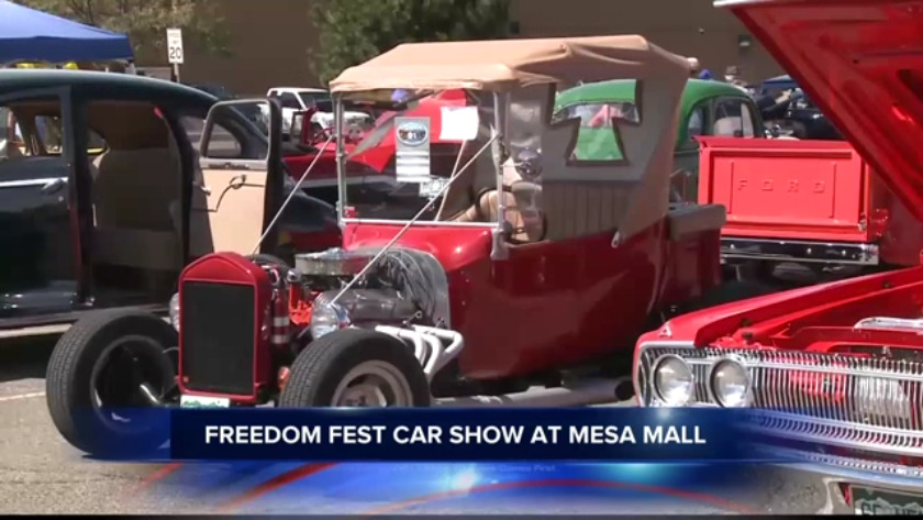 Car Show Fills Mesa Mall Parking Lot - Mesa car show