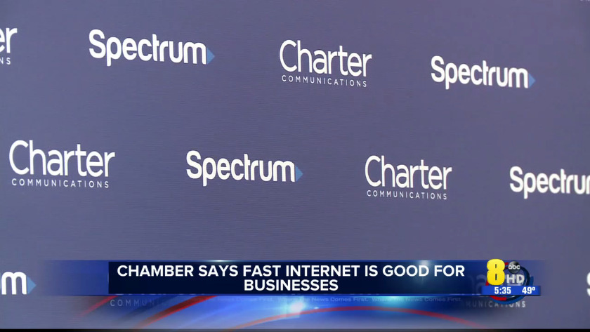 Chamber says fast internet is good for business