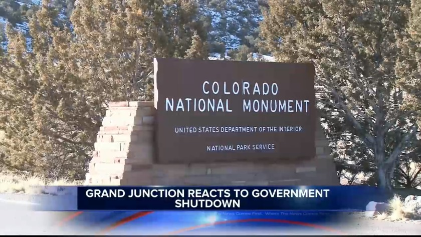 Grand Junction reacts to government shutdown