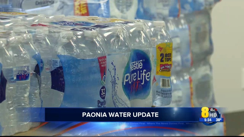 KJCT - Paonia water update