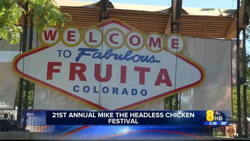 KJCT - 21st annual Mike the Headless Chicken festival kicks off
