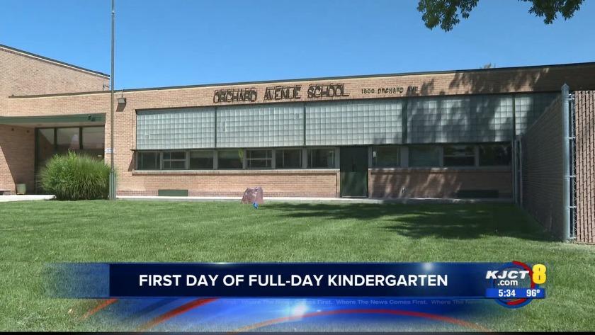 KJCT - First Day of Full-Day Kindergarten
