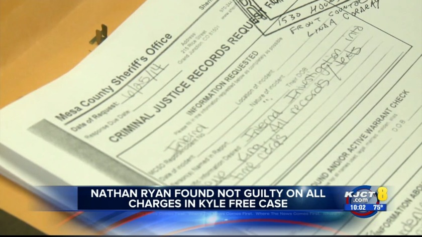 KJCT - Nathan Ryan Found Not Guilty On All Charges In Kyle