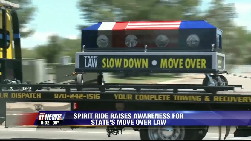 spirit ride aims to support move over law