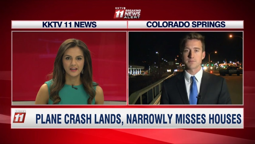 Small Plane Crashes In East Springs
