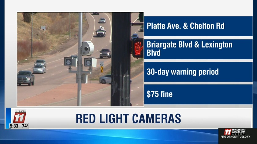 VIDEO: Red Light Cameras now In Place