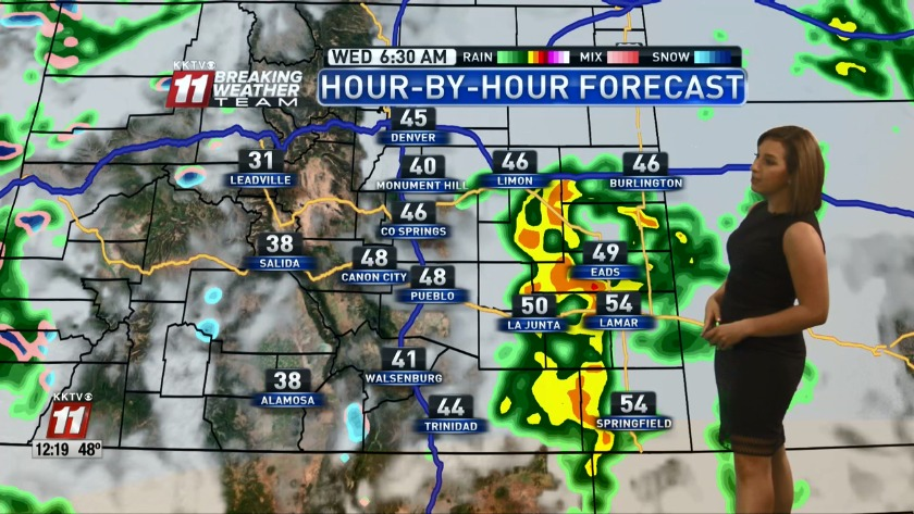 WATCH: Snow for Monday