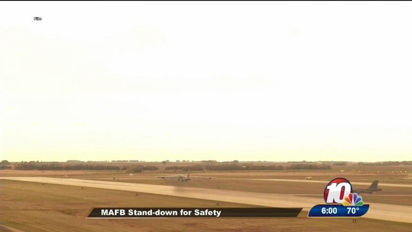 MAFB stand-down for safety
