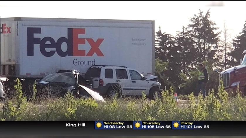 One dead after multiple vehicle crash on I-84 near Burley
