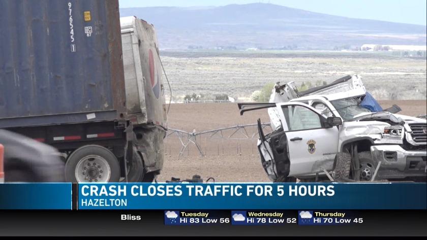 UPDATE: Idaho Fish and Game employee dies in multiple vehicle crash
