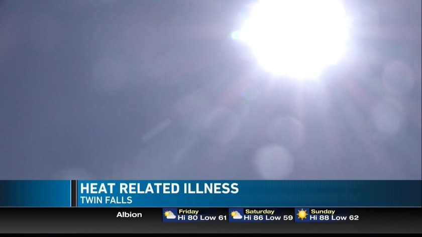 Avoiding heat illness during hot summer months