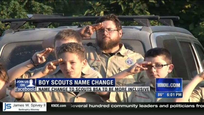 The Boy Scouts program will soon be called