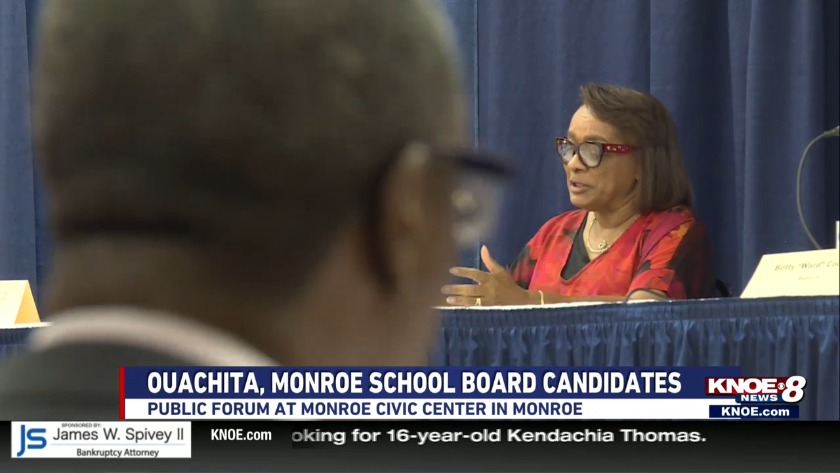 School board candidates talking big plans in Monroe, Ouachita Parish at  forum