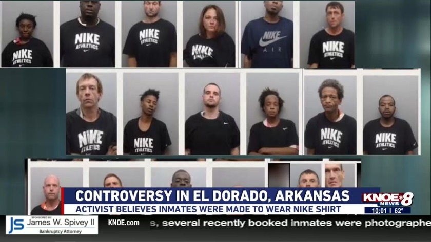UPDATE: Union County Jail responds to photographed inmates in Nike