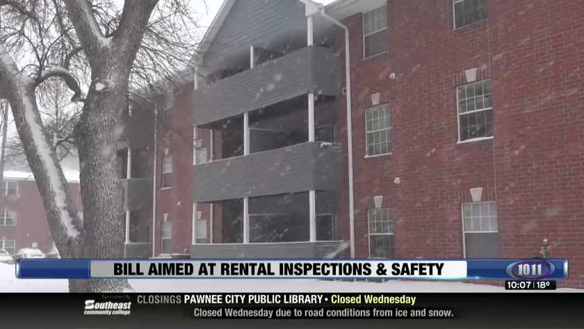 Bill aimed at rental inspections & safety