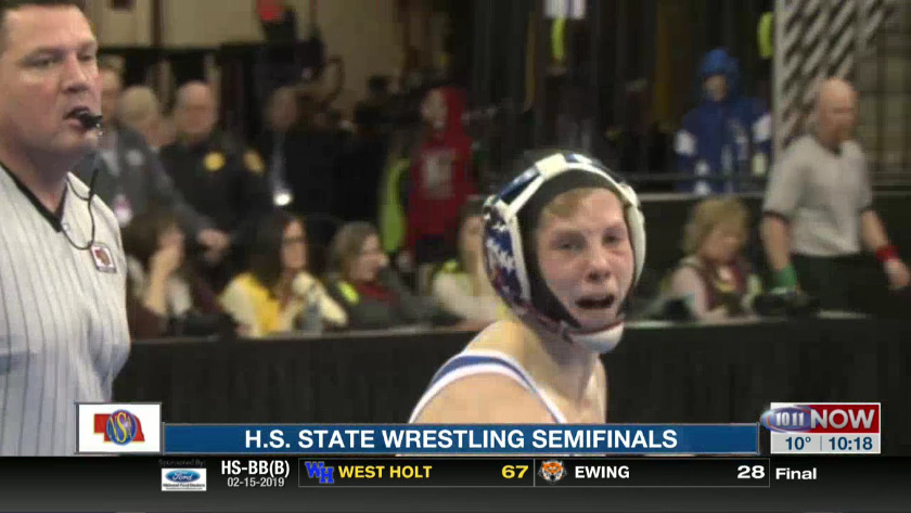 HS State Wrestling Semifinals