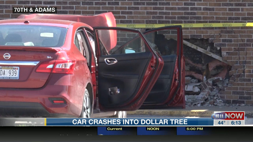 Car Crashes Into Dollar Tree In Northeast Lincoln