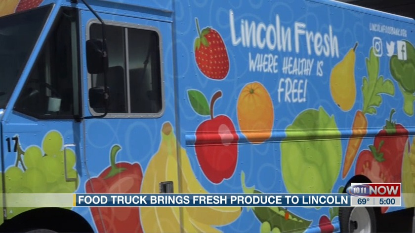 Food truck brings fresh produce to Lincoln
