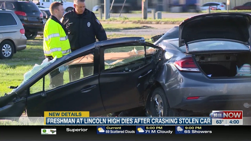 Lincoln High Freshman Killed In Friday Morning Crash