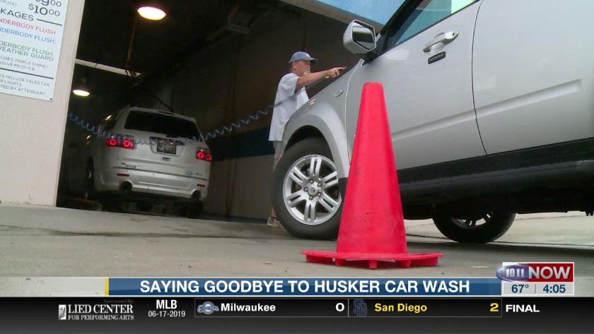Saying goodbye to Husker Car Wash