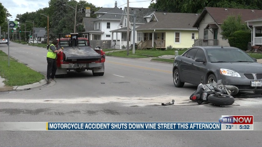 Two motorcyclists sent to the hospital after crash near N