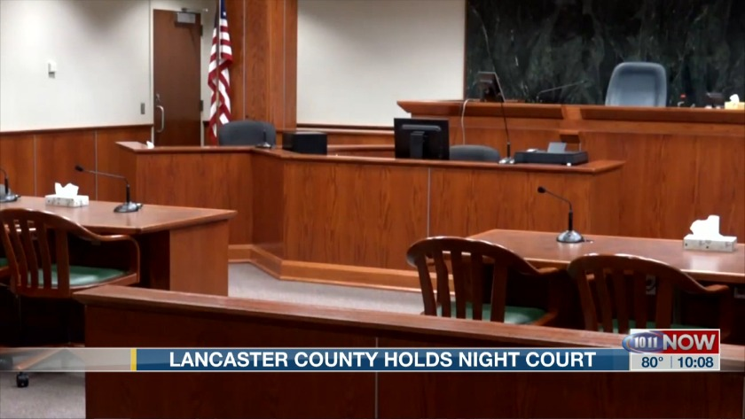 Lancaster County holds Night Court