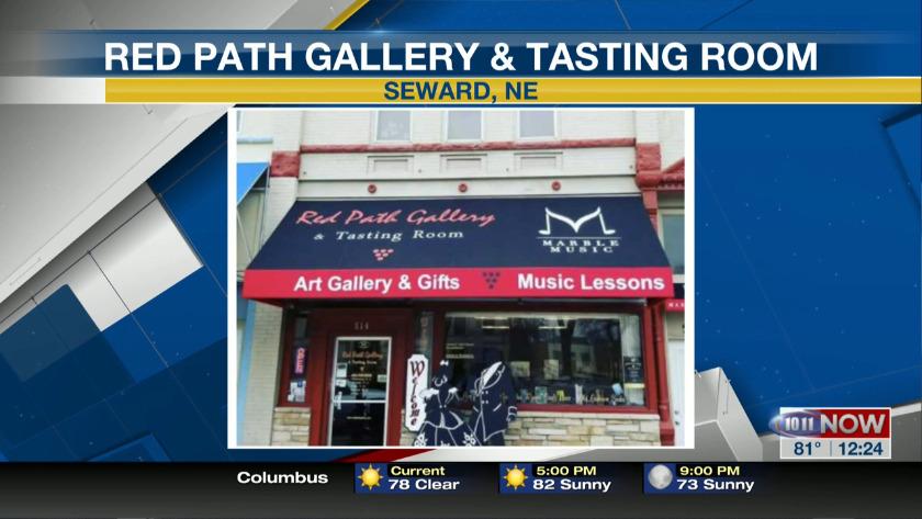Red Path Gallery & Tasting Room is in the Nebraska Passport