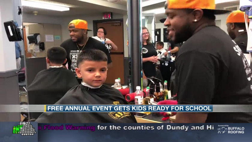 Free annual event gets kids ready for school