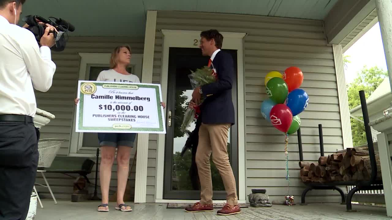 First reaction of Publishers Clearing House Sweepstakes
